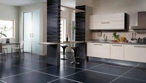 Плитка на пол на кухню