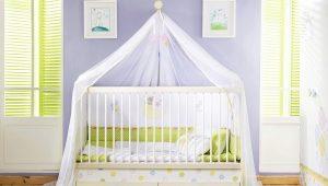Полог для детской кровати