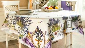 Скатерть-клеенка на стол для кухни