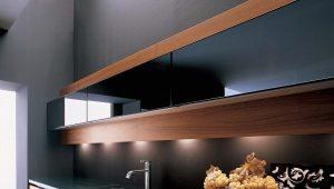 Стекла для кухонных шкафов