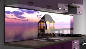 Стеновые панели с фотопечатью для кухни