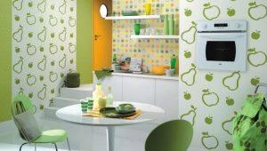 Стены на кухне: варианты отделки