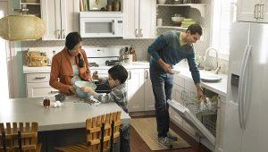 Встраиваемая посудомойка размером 45 см