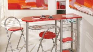 Высокий стол для кухни
