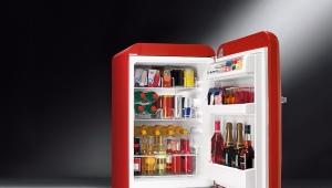 Маленький двухкамерный холодильник