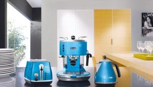 Кофеварки разных цветов