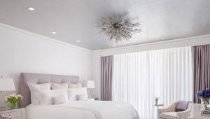Белая спальня в современном стиле