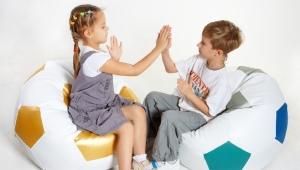 Бескаркасные детские кресла