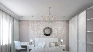 Дизайн спальни 17 кв. м