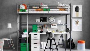 Кровать-чердак от Ikea