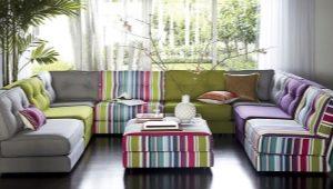 Расцветки и цвета диванов
