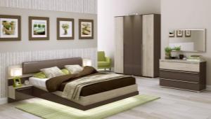 Спальни фабрики «ИнтерДизайн»