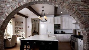 Арки на кухню вместо дверей