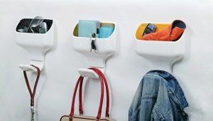 Декоративные крючки для одежды: нюансы дизайна