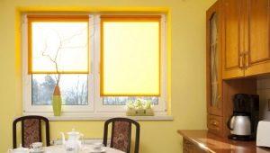 Как определить размер рулонных штор для окон?