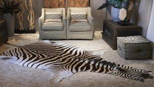 Ковер «зебра»