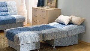 Кресла-кровати с механизмом трансформации «аккордеон»