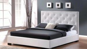 Кровати из экокожи