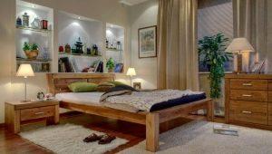 Кровати из сосны