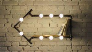 Лампы в стиле «лофт»
