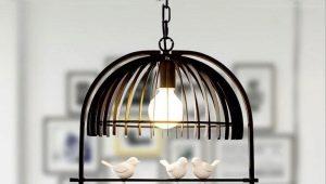 Люстры с птичками