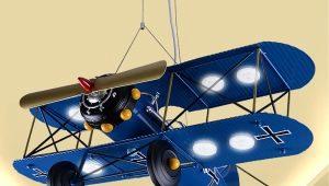 Люстры в виде самолета