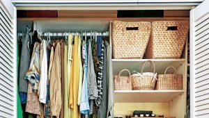 Маленькие шкафы для одежды