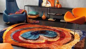 Модные ковры с рисунками