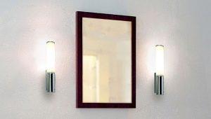 Настенные светильники в ванную комнату