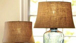 Настольные лампы в различных стилях