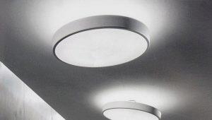 Плоские потолочные люстры