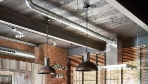 Подвесные светильники в стиле «лофт»