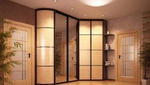 Радиусные угловые шкафы