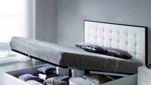 Размеры кроватей с подъемным механизмом