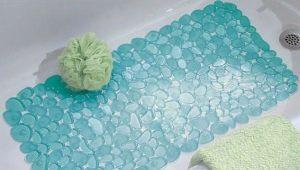 Резиновые коврики в ванную