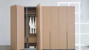 Шкафы с дверями «гармошкой»