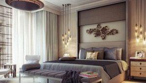 Шторы для спальни в различных стилевых решениях