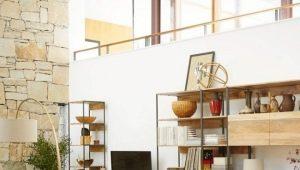 Стенки в гостиную с рабочим столом