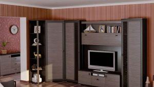 Угловые стенки в гостиную
