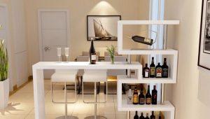 Барные столики – функциональность и стиль в интерьере квартиры