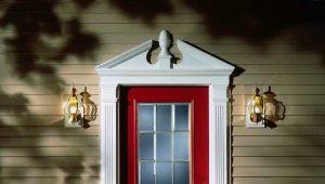 Двери с порталом: выбор и оформление