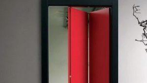 Межкомнатные двери-книжки: особенности и дизайн