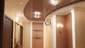 Натяжные потолки для коридора: особенности выбора