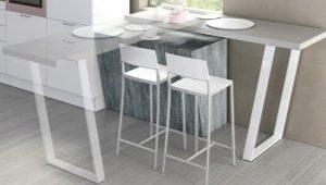 Ножки для стола: особенности и варианты