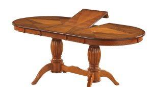 Овальные раскладные столы