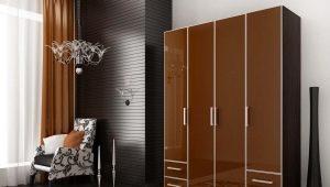 Распашные шкафы: конструкция и дизайн
