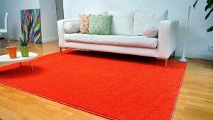 Размеры современных ковров