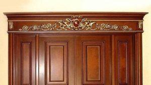 Разновидности декоративных накладок на межкомнатные двери