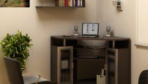 Угловые столы для ноутбука