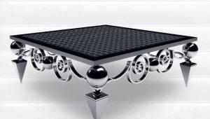 Выбираем металлический стол